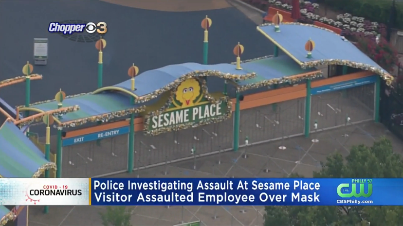 Sesame Place Employee, 17, Assaulted After Telling Visitor To Wear A Mask