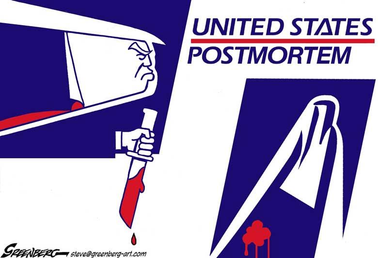 26 Republicans Break Rank On House Emergency Funding Bill For Postal Service