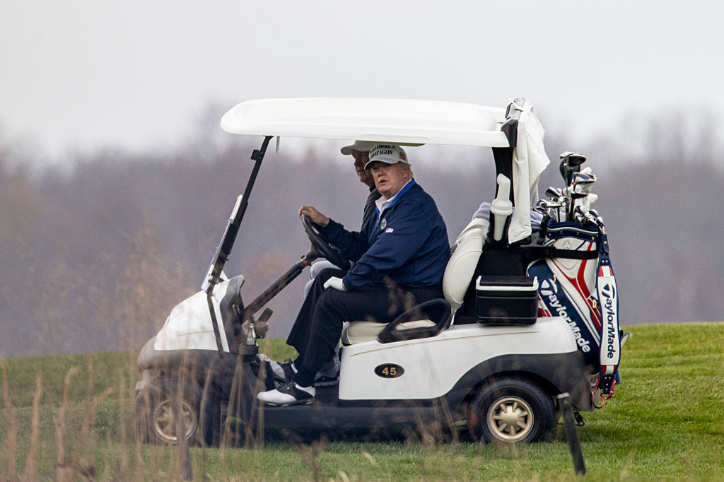 Stable Genius Goes Golfing, Misses G20 Covid Meeting