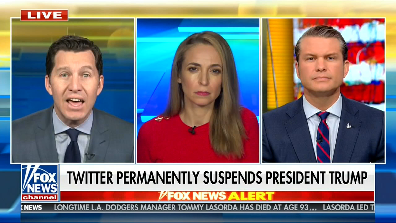 Fox Whines About Social Media Bans, While Ignoring Plans For More Violence