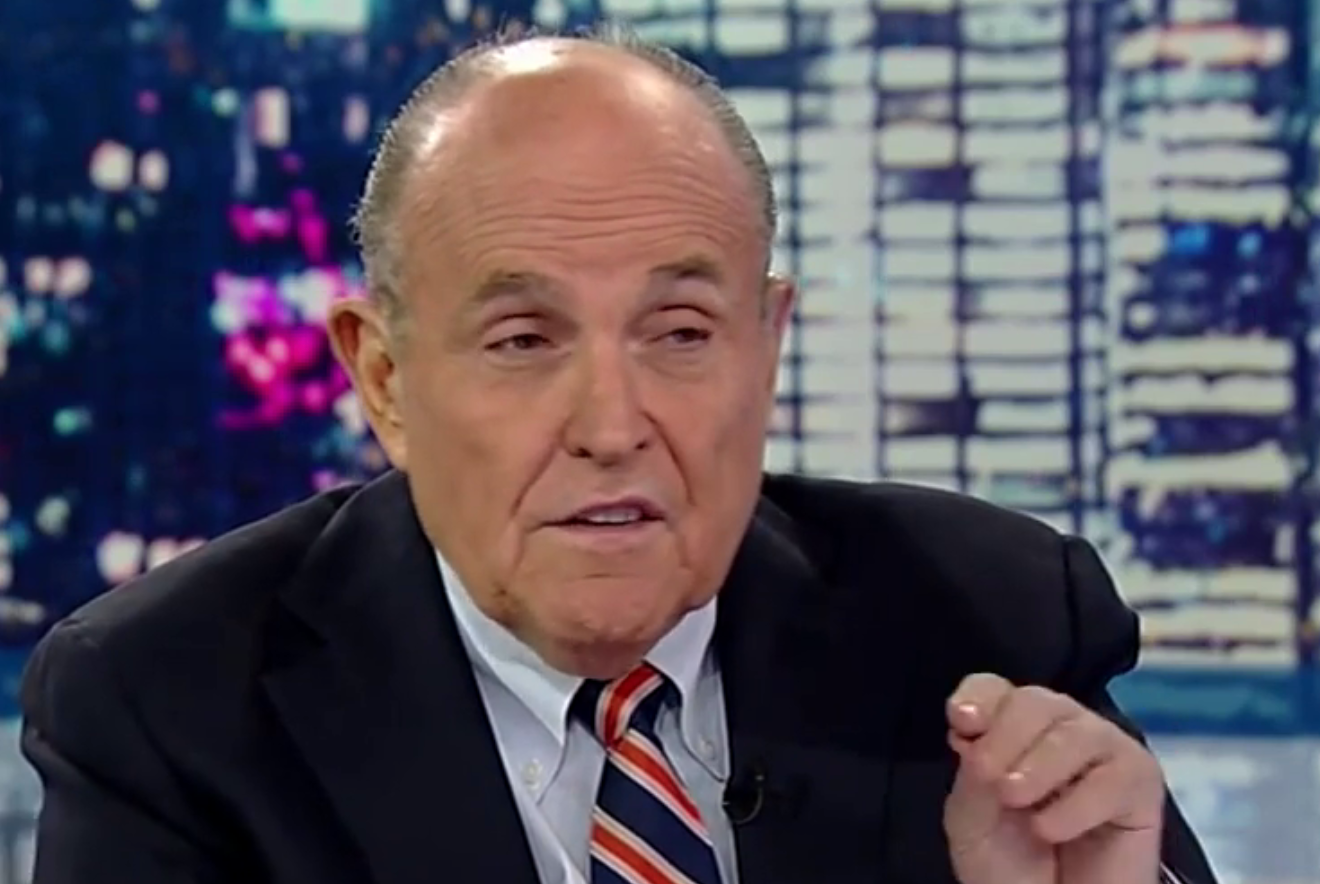 Rudy Giuliani Flips Out Over Dominion Lawsuit, Blames 'Hate-Filled Left Wing'