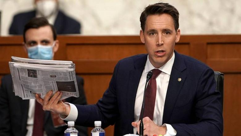 Josh Hawley Defended Mark Fuhrman After OJ Trial And Militia Members After Oklahoma City Bombing