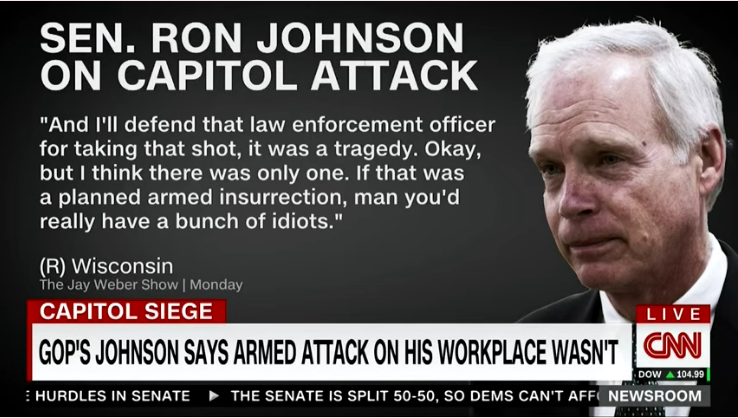 Yes, Ron Johnson, There Really Was An Armed Insurrection