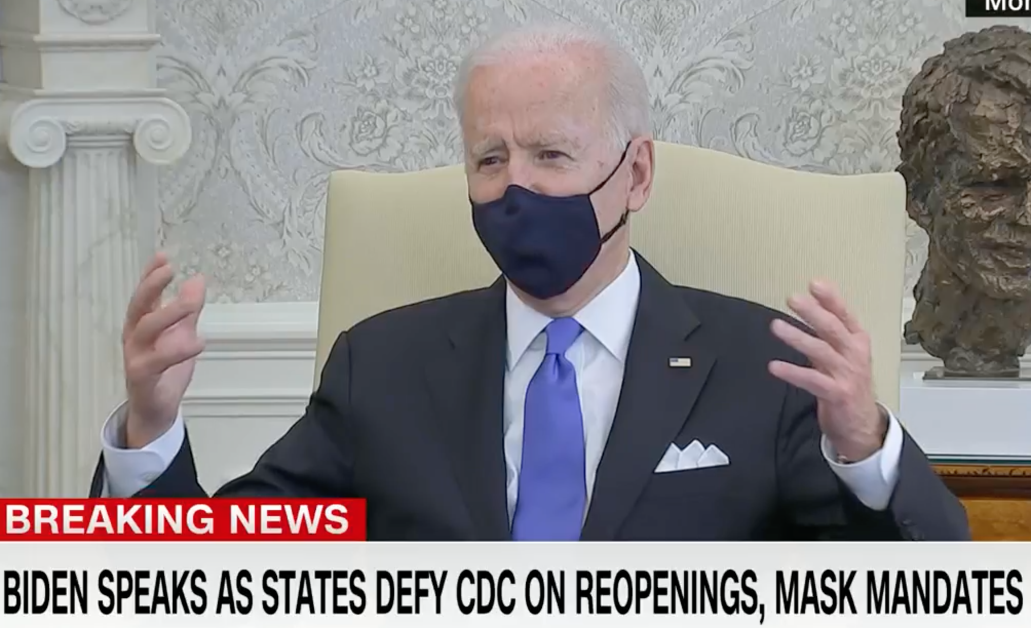 Biden Rightly Rips GOP Governors For 'Neanderthal Decisions'