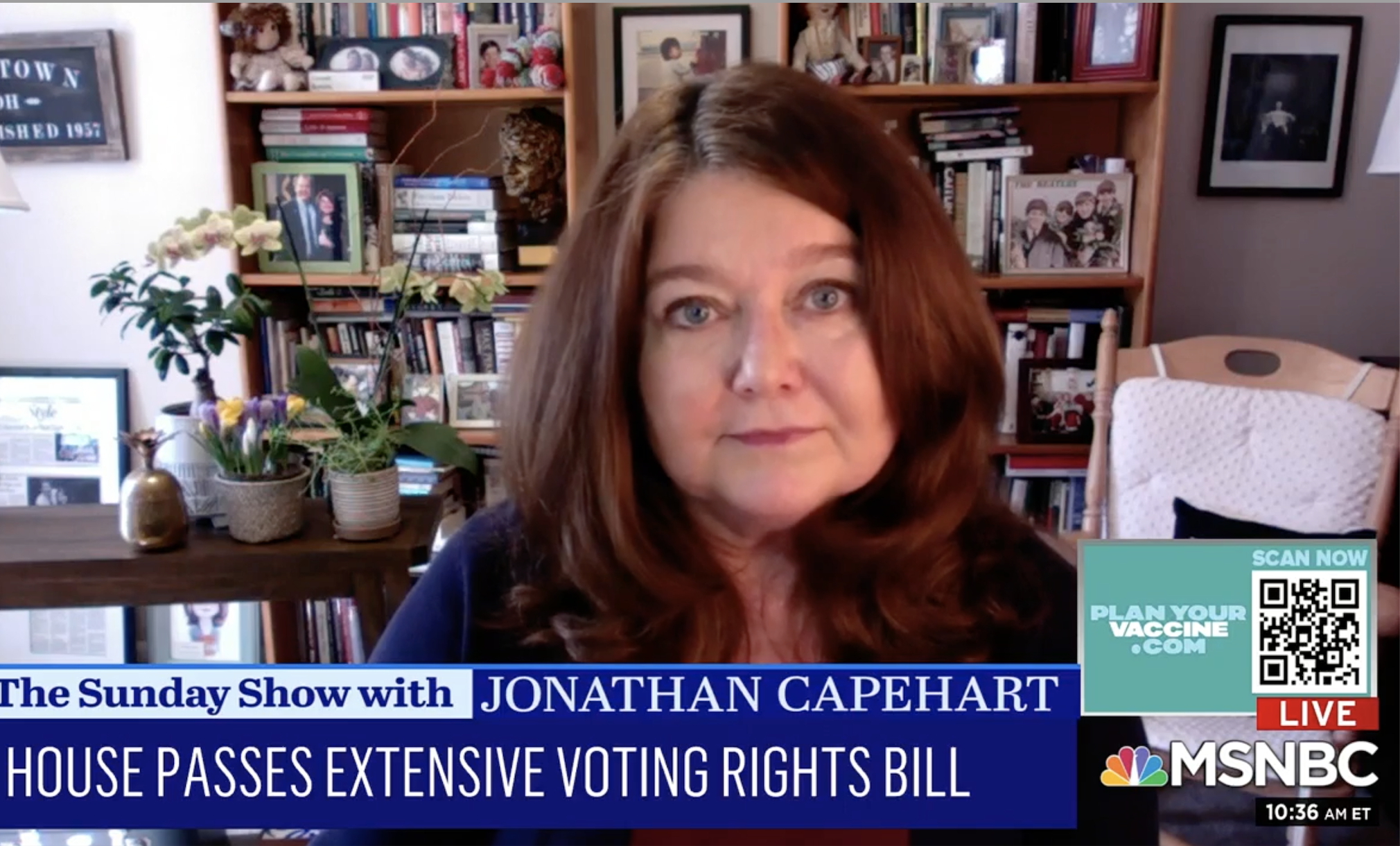 Connie Schultz Warns White People: 'This Fight Is Our Fight For Voting Rights' Too