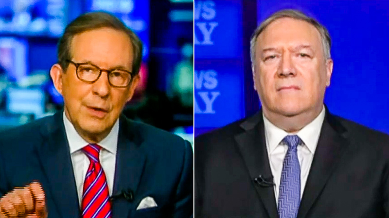 Wallace Grills Pompeo: Trump 'Had Almost A Year' To Prove Lab Leak Theory