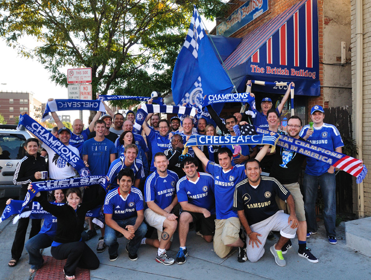 Pretty good turnout for the Rocky Mountain Blues (Denver), given that it's a 6am kick for a preseason match.