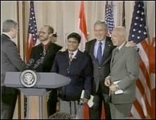 President Bush Recruits Friends to Celebrate 60th Birthday