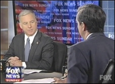 Howard Dean and Chris Wallace