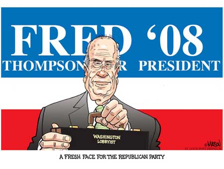 Fresh Face Fred Thompson