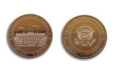 presidential coin