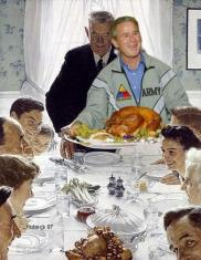 Freedom From Want by Norman Rockwell and Mark Hoback