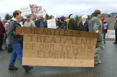 port townsend elderly protest