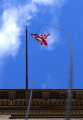 City Hall Flag by Zen Sutherland zenasheville.blogspot.com