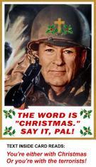 war on Christmas with bill-o