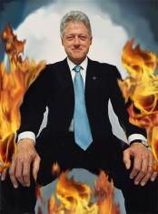 Bill's on fire!