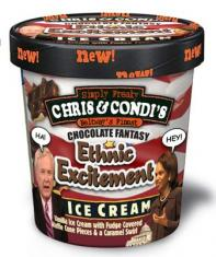 Ethnic Excitement is a Ben and Jerry's flavor