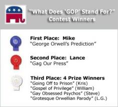 What GOP really stands for contest winners from Perrspectives