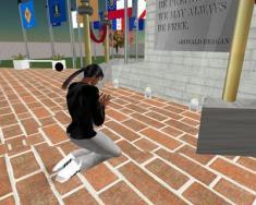 Jesus General in Second Life