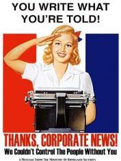Thanks corporate news.