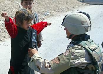 soldier plus kid