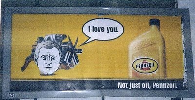 Bush loves Pennzoil