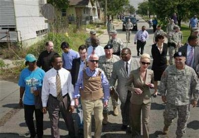 McCain tours New Orleans by Jess Wudrun http://jesswundrun.blogspot.com\