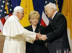 Pope meets Cheney