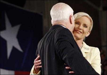 john mccain wife young. John McCain#39;s first wife.