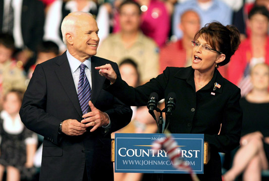McCain's Checklist for Vetting Palin
