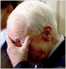 McCain Head in Hands