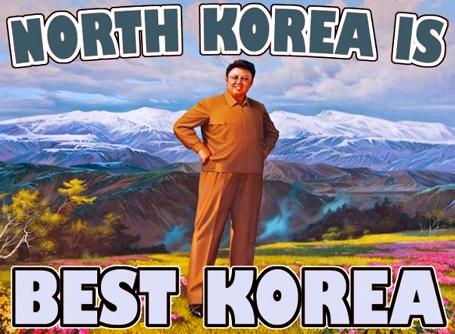 To Suckie North-Korea-is-Best-Korea--