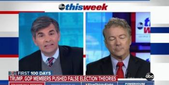 Hey Rand Paul:  'Both Sides Don't'
