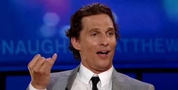 Matthew McConaughey Leads Greg Abbott In TX-GOV Poll