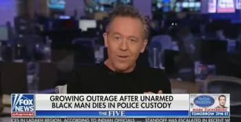 Fox News' Greg Gutfeld Speaks Gibberish To Defend Police Officer That Killed George Floyd