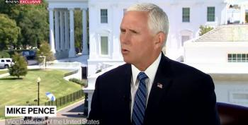 Pence Defends The Insanity Of Large Trump Rallies During Pandemic