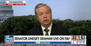 Lindsey Graham Whines To Fox That He's 'Being Killed' By Small ActBlue Donations