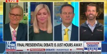 Don Jr. Promises 'Heckler' Of Moderator At Debate