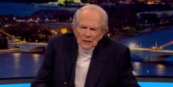 Pat Robertson Objects To Calling Biden 'President-Elect'