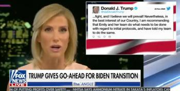 Laura Ingraham Finally Admits That Yeah, Joe Biden Is The Next President