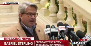 GA Republican: Trump 'Complicit' In Threats Against Election Officials