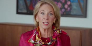 Betsy Devos Calls Student Debt Forgiveness 'A Truly Insidious Notion'