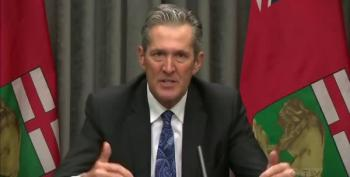 Manitoba's Premier: 'I'm The Guy Who Is Stealing Christmas'