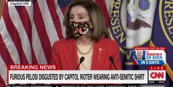 Pelosi Calls 'Camp Auschwitz' Rioter 'That PUNK'