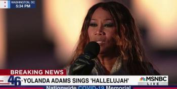 Yolanda Adams Sings 'Hallelujah'