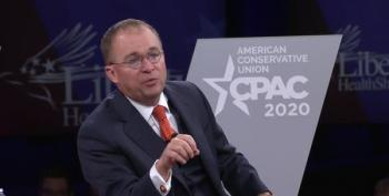 Mick Mulvaney CPAC 2020 : COVID Another Witch-hunt Against Trump
