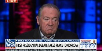 Fox Regular Mike Huckabee Blows Off NYT Bombshell On Trump's Taxes: 'So What?'