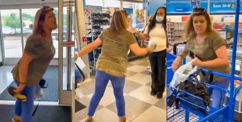 White Supremacist Shopper Calls Black Store Manager 'Monkey'