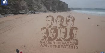 Share The Vaccine - Waive The Patents